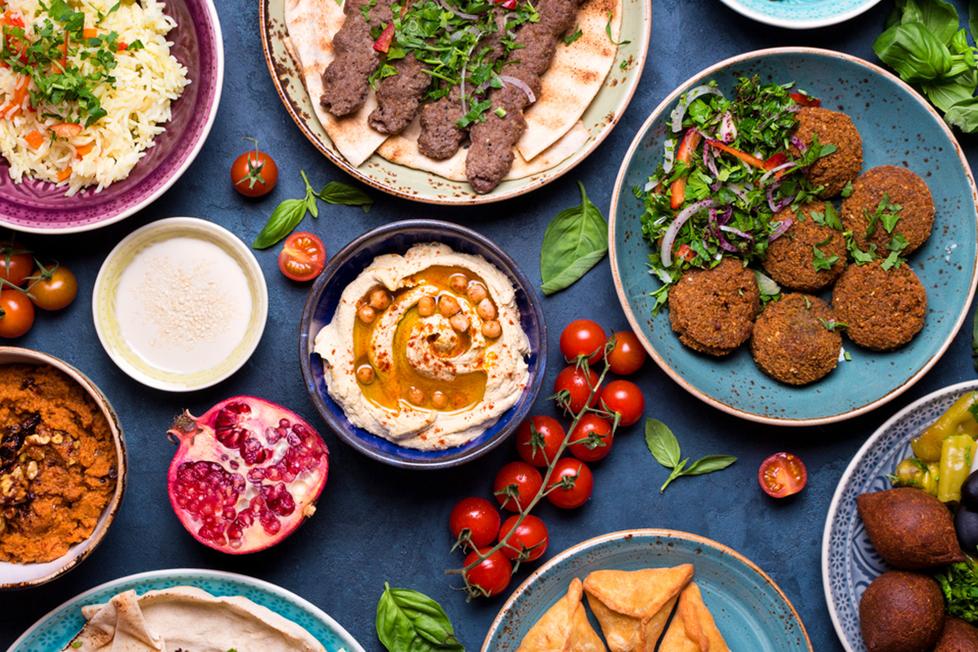 La comida en Emiratos Árabes